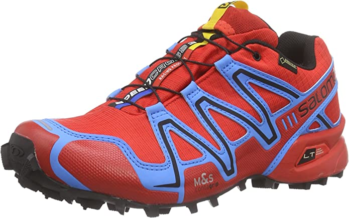 Salomon Speedcross 3 GTX, Hombre Trail Zapatillas de Running, Color Multicolor, Talla 39: Amazon.es: Zapatos y complementos