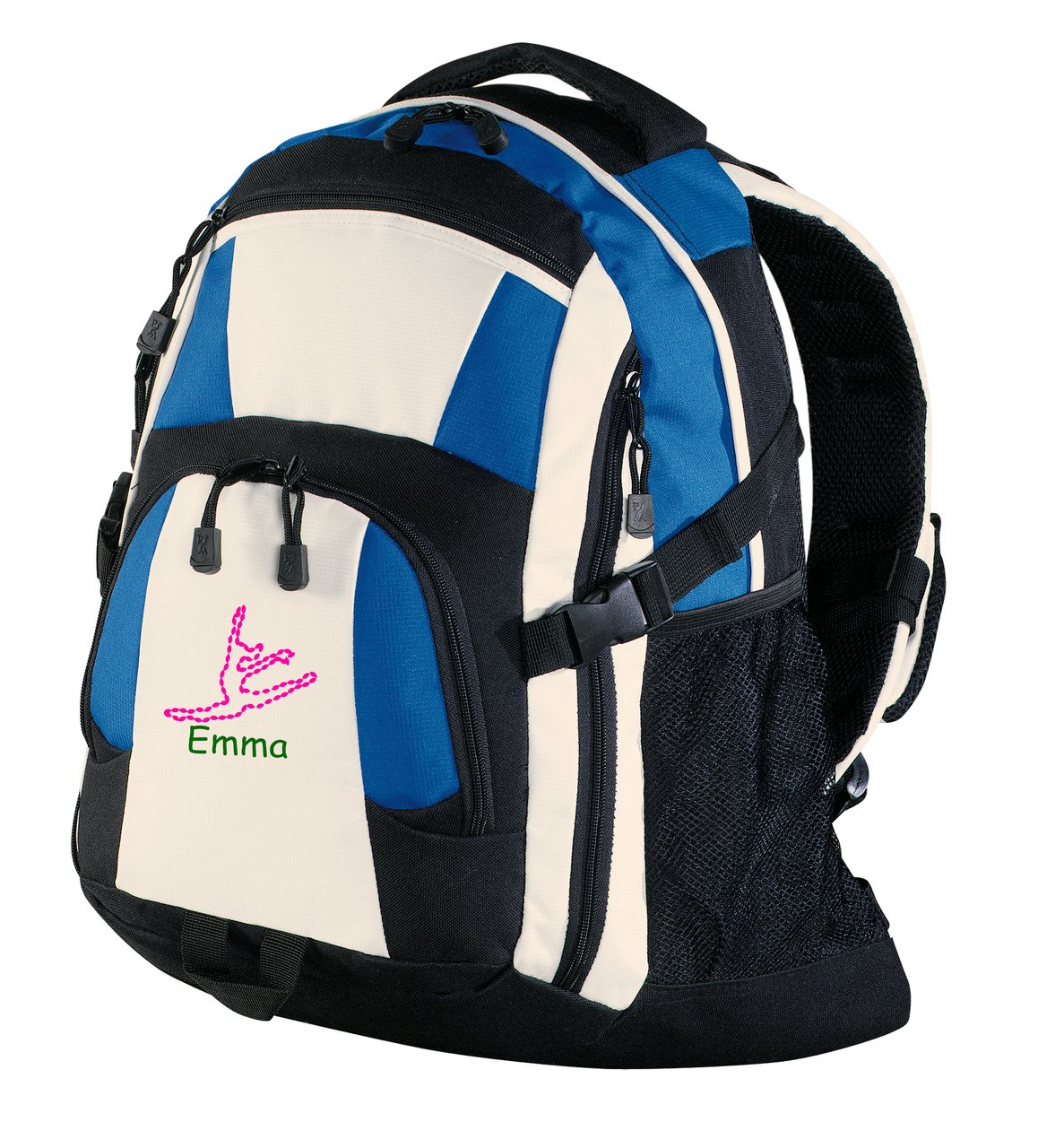 all about me company Personalized Dance Urban Backpack (Royal/Black/Ston) by all about me company