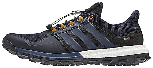 sale retailer 680bf 91c0c adidas Raven M, Zapatillas de Running para Hombre, AzulNaranja  (MaosnoAzuminEqtnar), 47 13 EU Amazon.es Zapatos y complementos