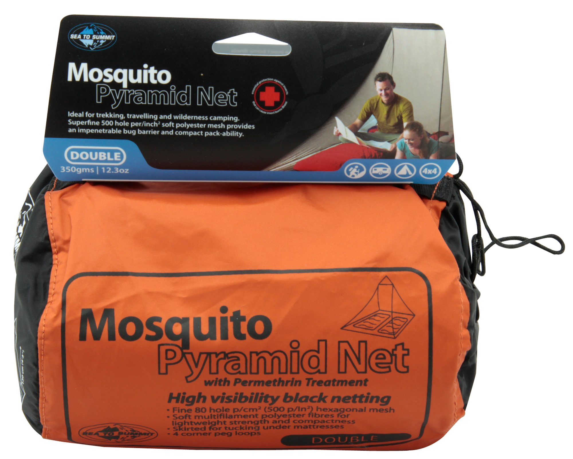 SEA TO SUMMIT MOSQUITO NET WITH PERMETHRIN (DOUBLE)
