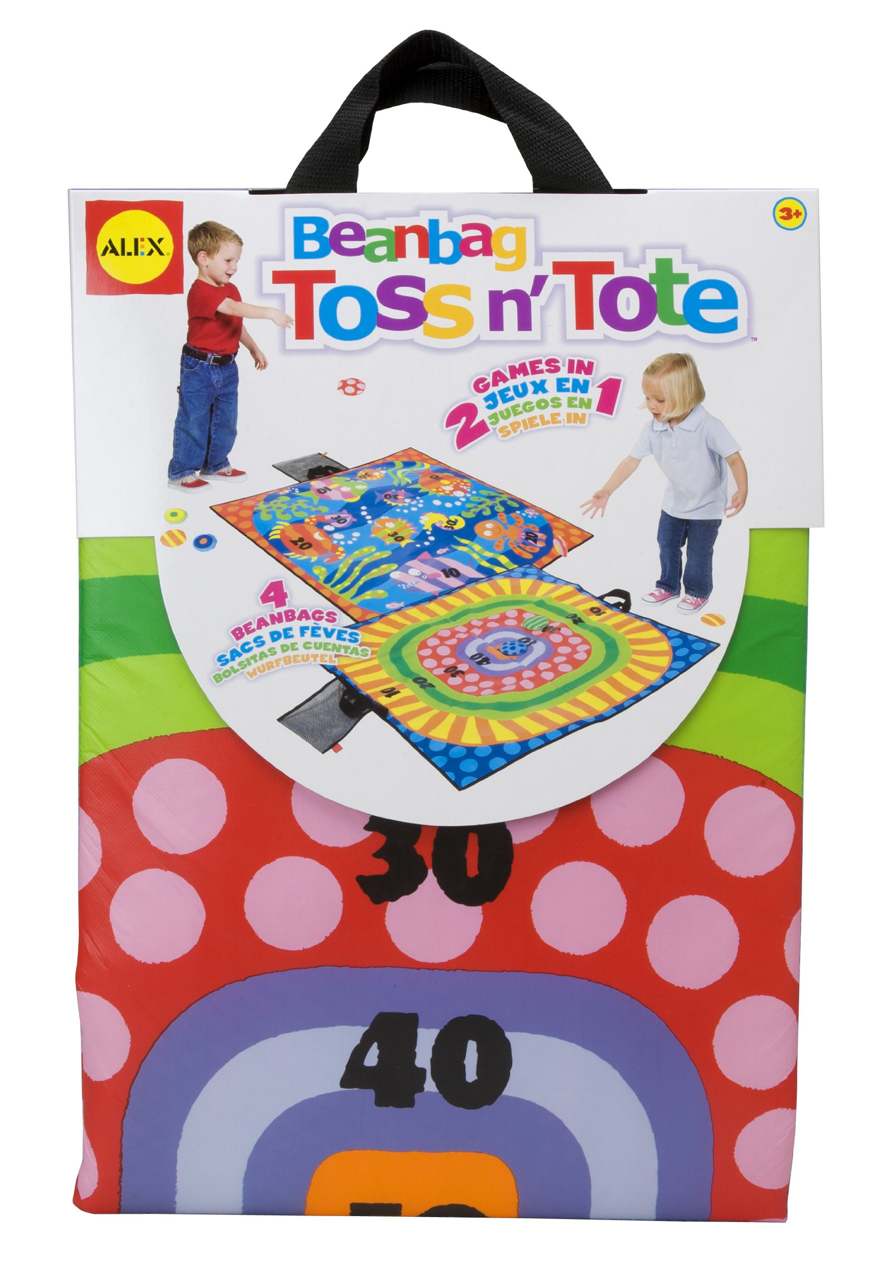 ALEX Toys Active Play Beanbag Toss N Tote
