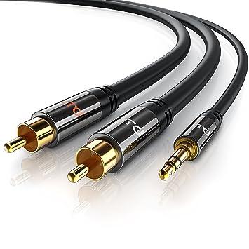 Primewire - 1,5m HQ 3,5 mm Jack a RCA Audio Cable  
