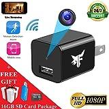 Amazon Price History for:[NEW VERSION] WiFi Hidden Camera - Spy Camera - 16GB Included - HD 1080P - Surveillance Camera - USB Nanny Cam - Smart Cam - Home Security - 128GB Memory Max