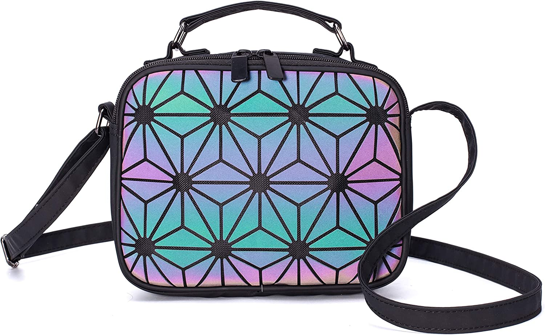 Geometric Crossbody Bag...