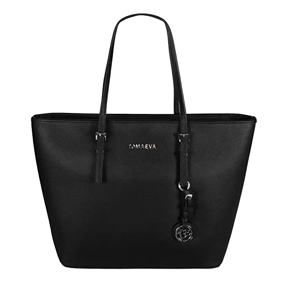 Tom & Eva Damen Handtasche 6288F TE-Jet Set Travel Bag Tasche Schwarz