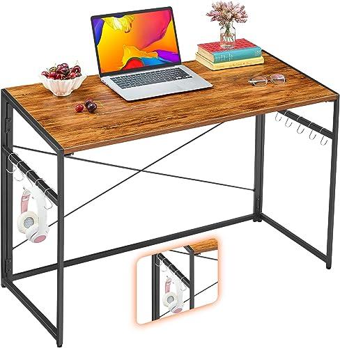 Mr IRONSTONE 39.4 Folding Computer Desk