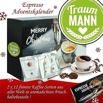 Weihnachtskalender Für Freund.Traummann Advent Kalender Espresso Weihnachtskalender Damen