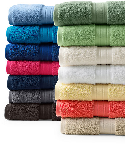 Supima Bath Towels from Lands' End