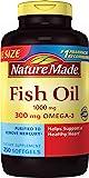 Nature Made 天维美 欧米伽3深海鱼油软胶囊 250粒(包装可能会有所不同)