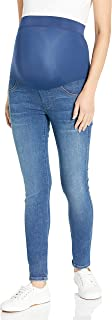 product image for James Jeans Women's Twiggy Maternity External Band Skinny Jean in Victory