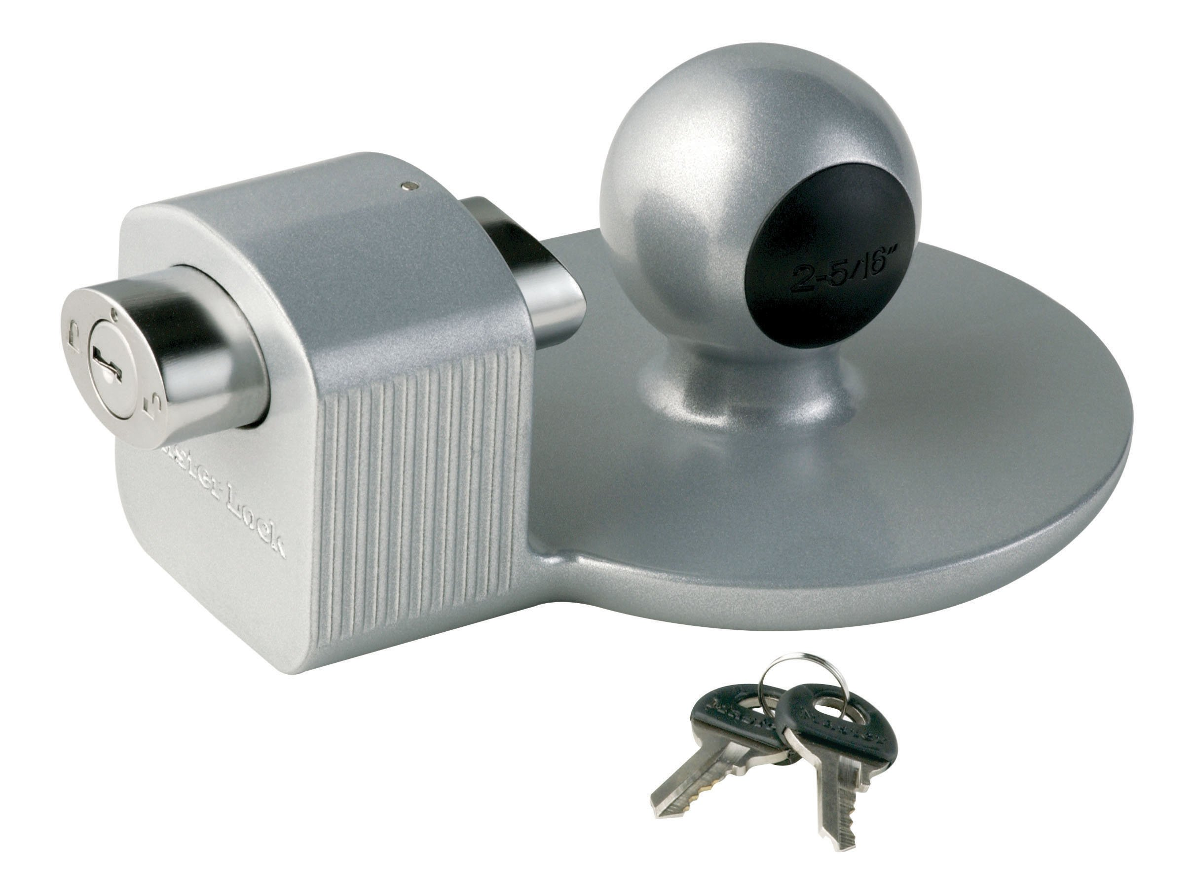 Master Lock Trailer Lock, Trailer Coupler Lock, Fits 2-5/16 in. Couplers, 378DAT by Master Lock