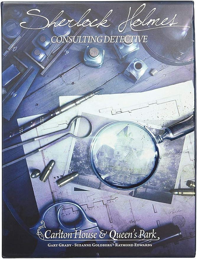 Space Cowboys ASMSCSHCQ01EN Carlton House & Queens Park-Sherlock ...