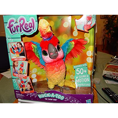 FurReal Rock-A-Too The Show Bird: Toys & Games