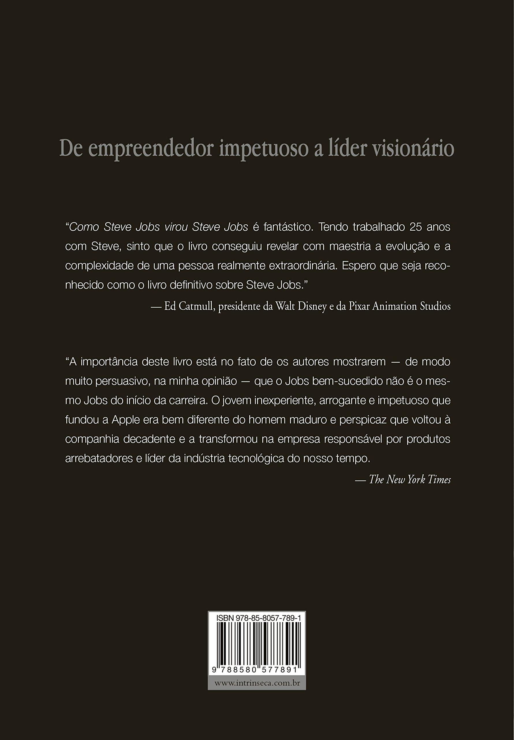 a6d5a8dcd3f Como Steve Jobs Virou Steve Jobs - 9788580577891 - Livros na Amazon Brasil