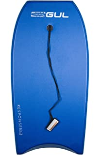 Bright Design Boogie Board with Durable Finish GUL Response Adult Unisex 42 Bodyboard in Red Leash Included