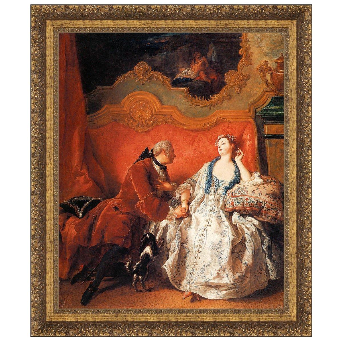 Design Toscano The Declaration of Love, 1735: Canvas Replica Painting: Medium