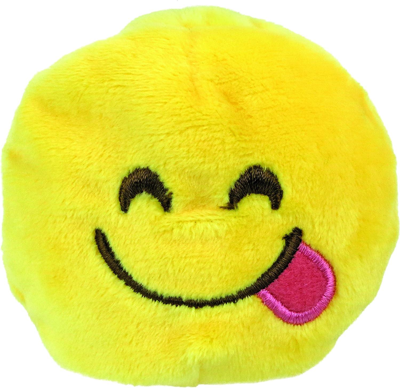 KIDS PREFERRED Emoji Beanbag - Face Savoring Delicious Food Plush