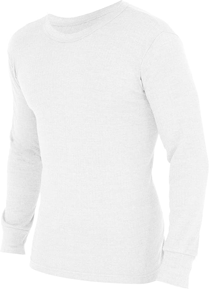 Floso Unisex Childrens//Kids Thermal Underwear Long Sleeve T-Shirt//Top