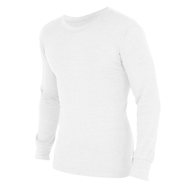 Floso Mens Thermal Underwear Long Sleeve T Shirt Top (Standard Range)
