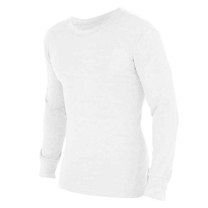 FLOSO - Camiseta interior térmica de manga larga para hombre (Gama Estandar): Amazon.es: Ropa y accesorios