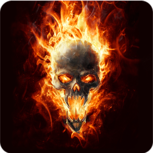 Amazon.com: Magic Effect : Skull In Fire: Appstore for Android