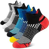 Onmaita Calcetines deportivos para hombres y mujeres, 6 pares de calcetines deportivos cortos para actividades al aire…
