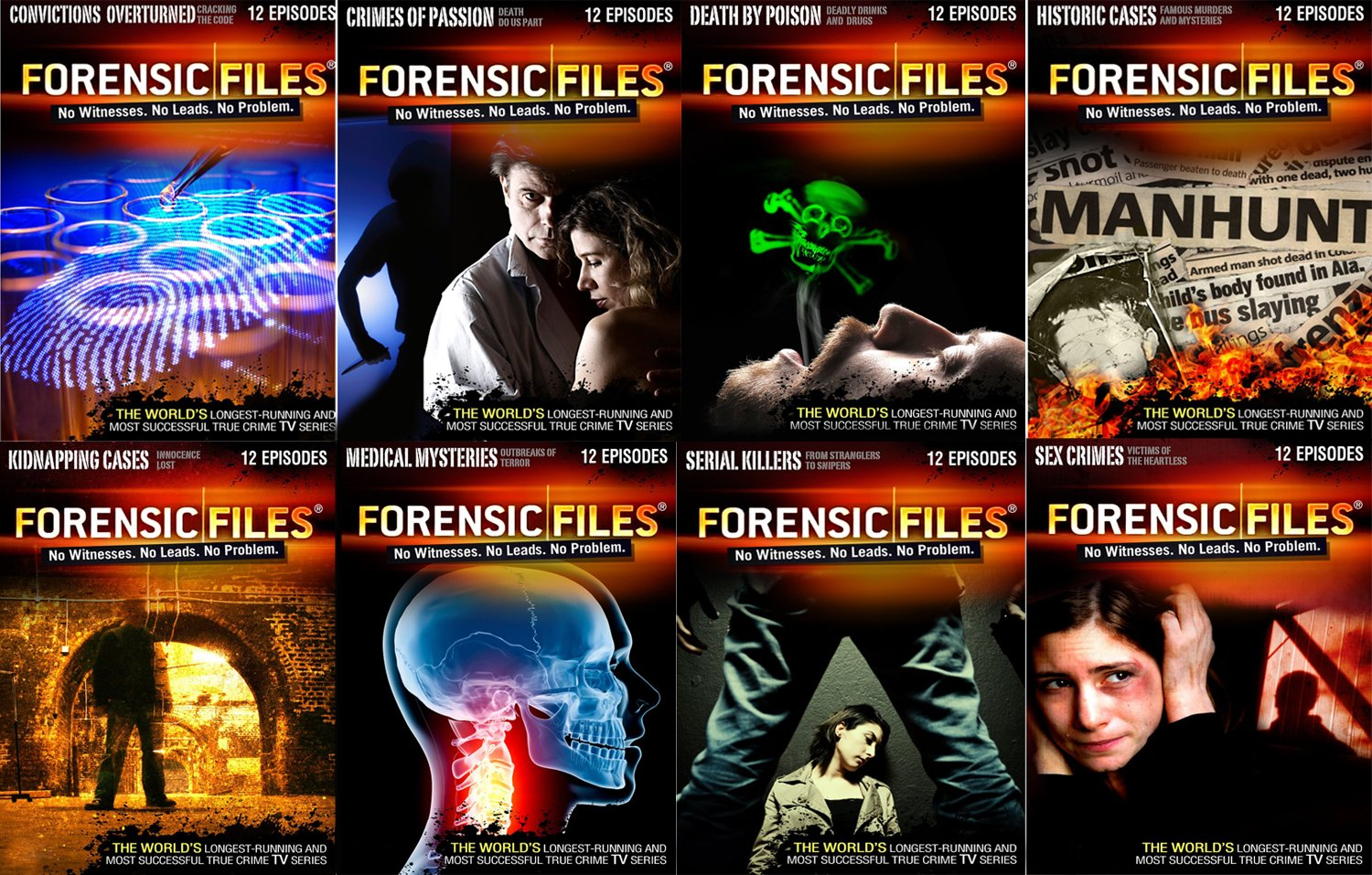 Amazon Com Forensic Files Best Of Series 96 Episodes 16 Dvd Collection Amazon Com Exclusive Peter Thomas Paul Dowling Paul Dowling Movies Tv