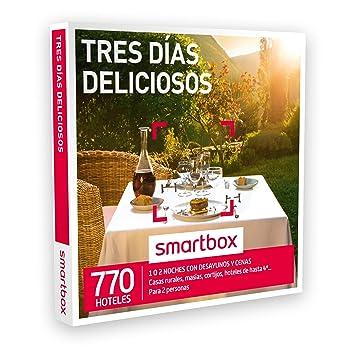 Smartbox Caja Regalo - TRES DÍAS DELICIOSOS - 770 casas rurales, cortijos, hoteles de