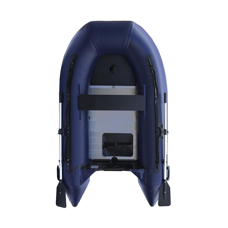 Amazon.com: Aleko 8.4 ft Azul Barco Inflable con aluminio ...