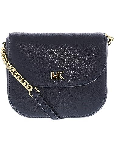7657c2d3aba8 Amazon.com  Michael Kors Mott Crossbody Bag- Admiral  Michael Kors ...