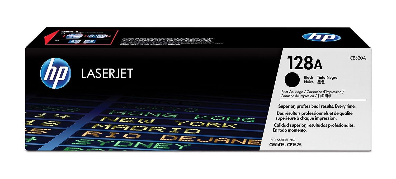 HP CE320A Toner 128A, Nero Hewlett Packard Cartucce HP128ATonerCE320Ablack Inchiostroperstampanti