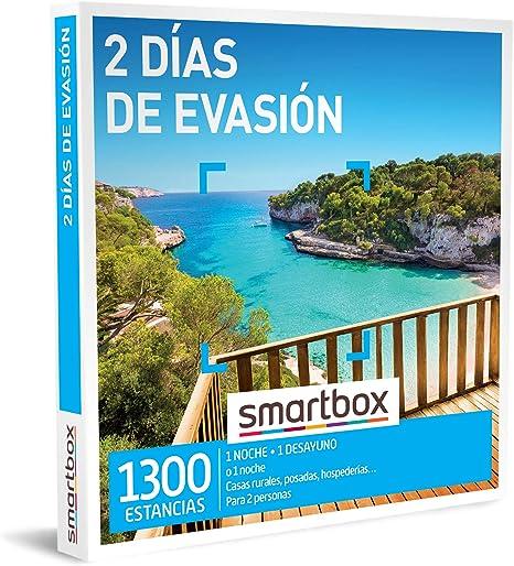 SMARTBOX - Caja Regalo - 2 días de evasión - Idea de Regalo - 1 Noche o 1 Noche con Desayuno para 2 Personas: Amazon.es: Deportes y aire libre
