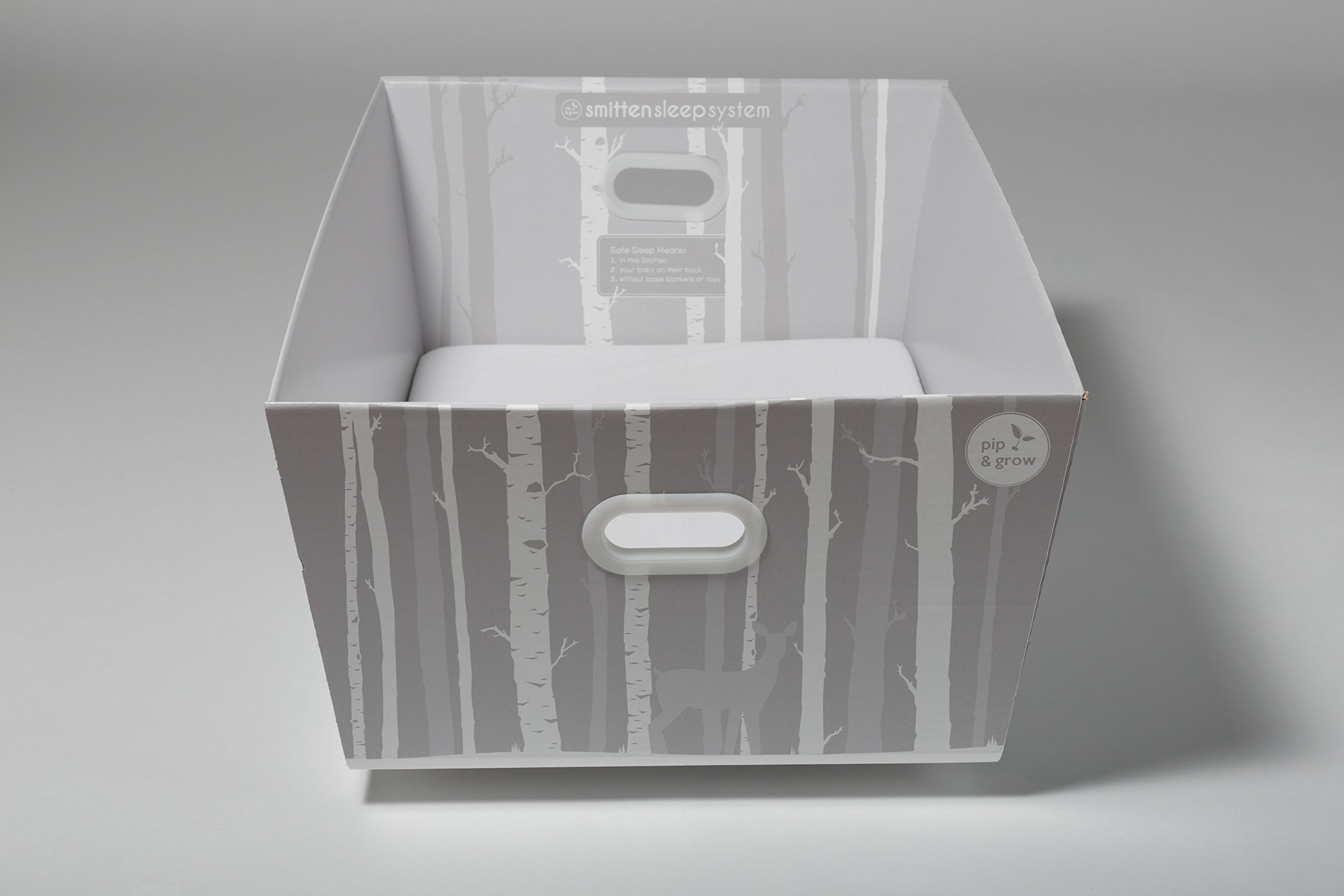 Finnish Baby Box Bassinet with Organic Cotton Layette Clothing and Health and Grooming Kit by Gorilla Boo (Image #7)