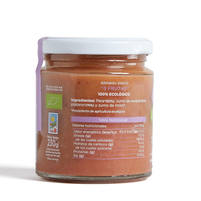 Smileat Potito de Tres Frutas - 230 gr - [Pack de 12]: Amazon.es: Alimentación y bebidas