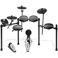 Alesis Drums Nitro Mesh Kit – 8-Piece All-Mesh Electronic Drum Kit with Aluminium Rack, 385 Sounds, 60 Play-Along Tracks…
