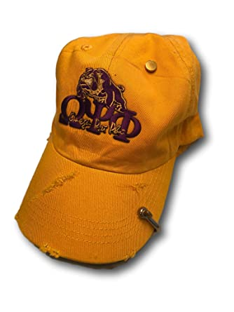 fc9baaf126e Image Unavailable. Image not available for. Color  Omega Psi Phi Fraternity Dad  Hat Cap