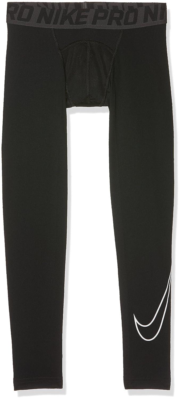 ナイキボーイズCool HBR圧縮タイツ B00RW5DDAA XL ブラック ブラック XL