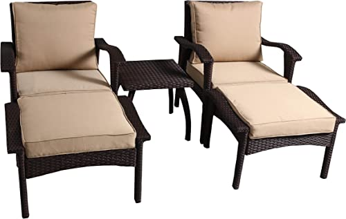 Christopher Knight Home Honolulu PE Chat Set