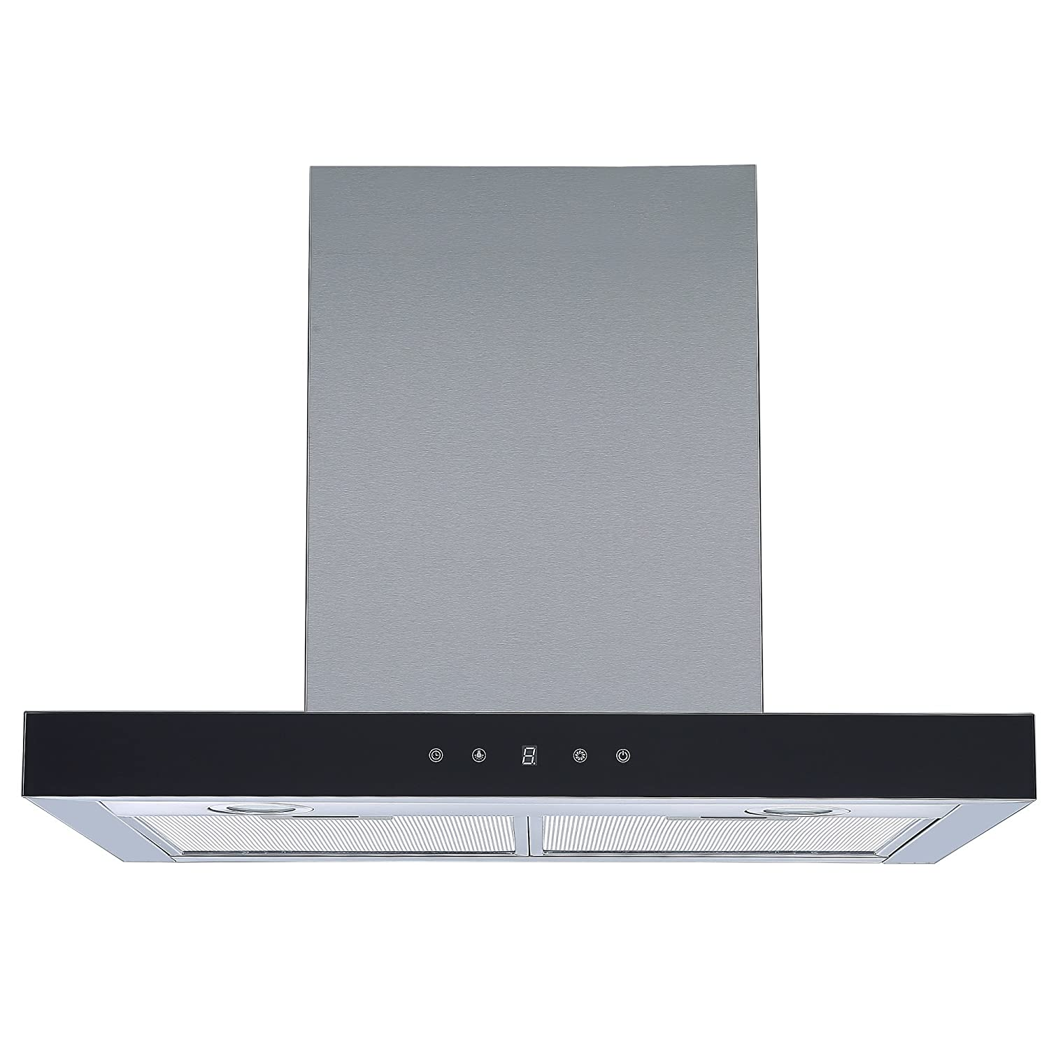Cookology LINT601SS Linear Cooker Hood, Touch Controls, 60cm Designer Extractor Fan [Energy Class C]
