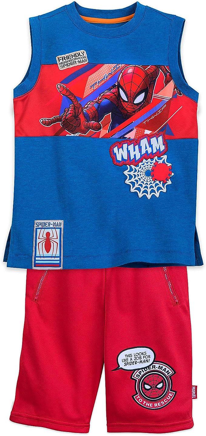 Spiderman Boys Patch Sportswear Set