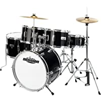 XDrum J-Pro-S - Set de batería infantil, color negro