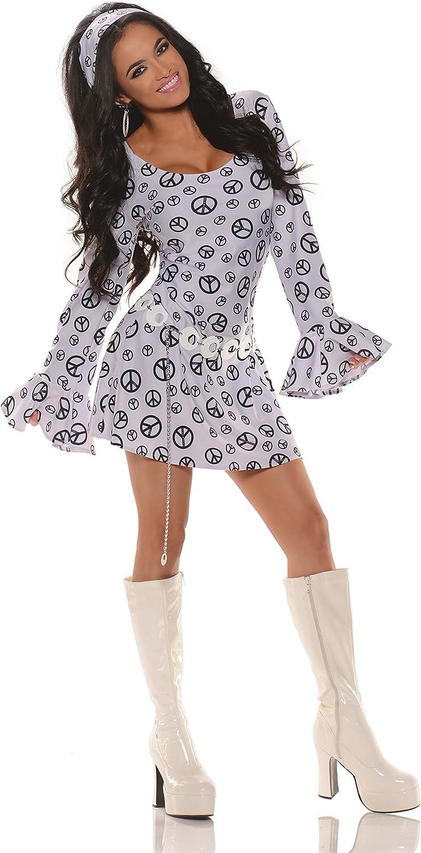 Women's Retro Hippie GoGo Costume