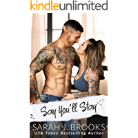 Say You'll Stay: An Enemies to Lovers Romance (Southport Love Stories Book 1) book cover