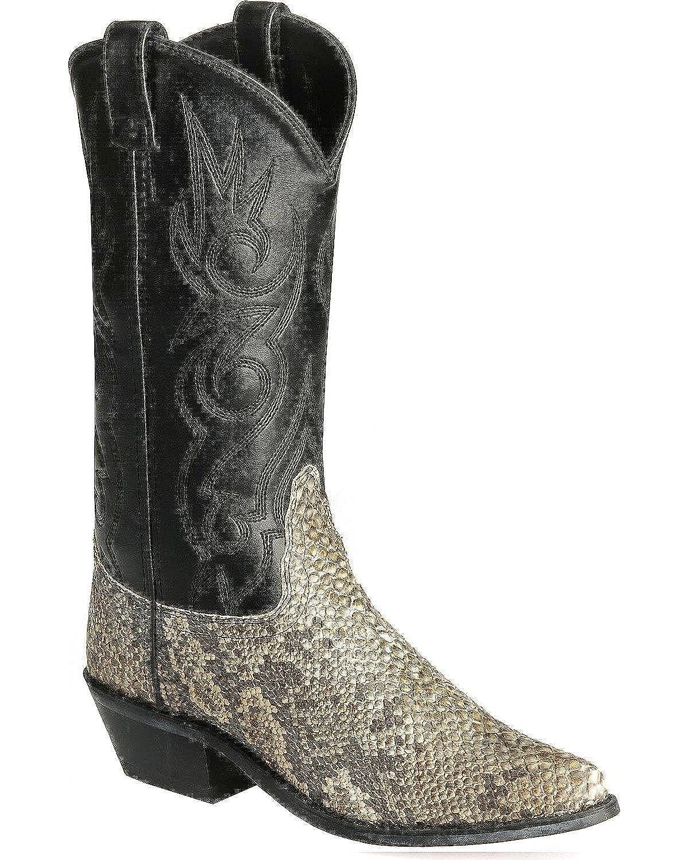 Old West Mens Elephant Print Cowboy Boot  B00EP24IL6
