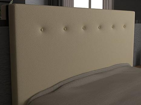 LA WEB DEL COLCHON Cabecero de Cama tapizado Acolchado Macedonia (Cama 160) 170 x