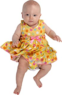 product image for Laura Dare Baby Girls Sprinkles Frilly Itsy Bitsy Jumpsuit