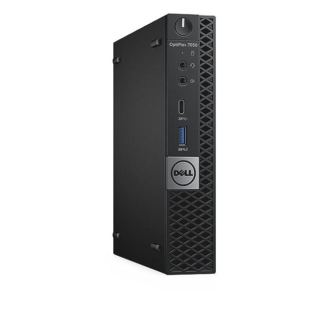 569b8db62ad896 Amazon.com  Dell OptiPlex 7050 Micro Form Factor Desktop Computer, Intel  Core i5-7500T, 8GB DDR4, 256GB Solid State Drive, Windows 10 Pro (DRR4T)   Computers ...