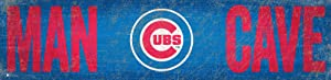 Fan Creations MLB Chicago Cubs Unisex Chicago Cubs Man Cave 6x24 Sign, Team, 6 x 24