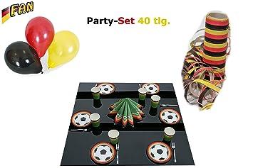 Carnaval Teufel Set de fiesta, a la siguiente Sport Party, Negro ...
