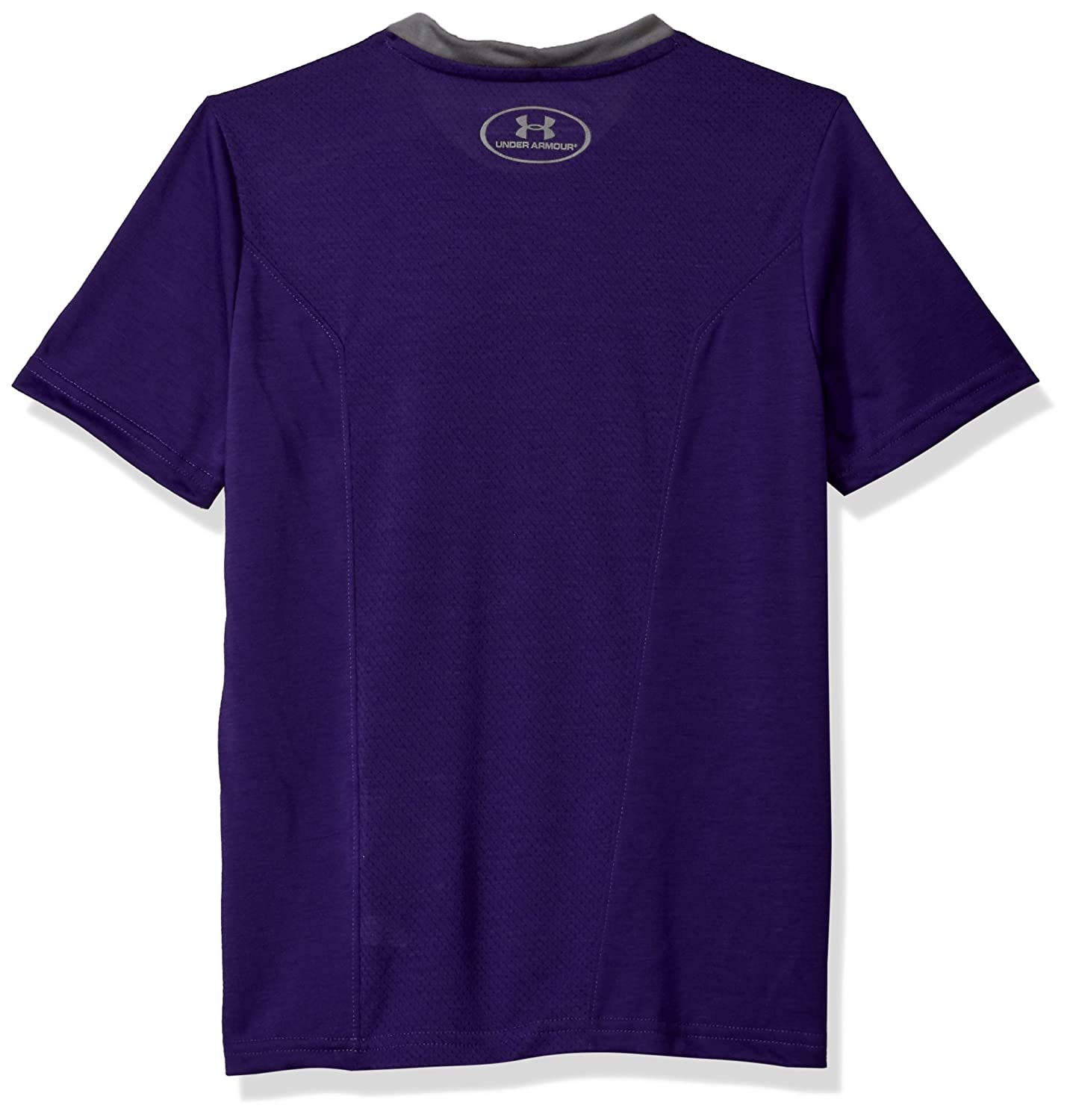 Purple Under Armour NCAA TCU Horned Frogs Teen-Boys NCAA Boys Short Sleeve Vented Tee X-Large